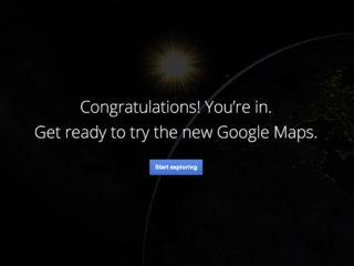 New Google Maps Sneak Peek