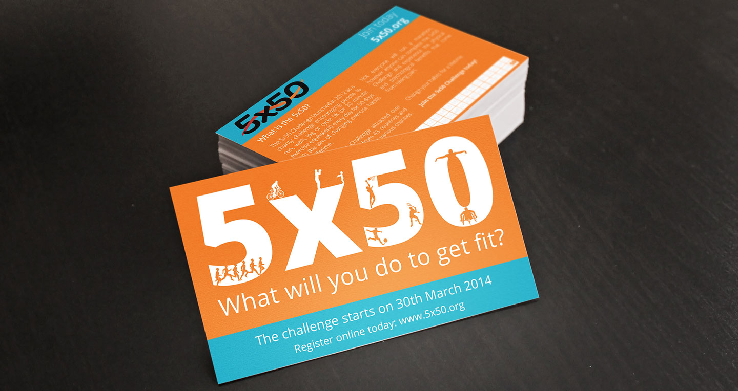 5×50 Challenge 2014 Business Cards